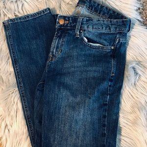 Gap Real Straight Medium Wash Jeans